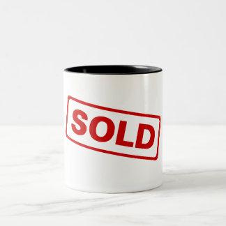 Sold Two-Tone Coffee Mug