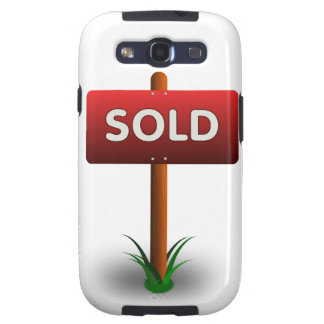 Sold_Vector_Clipart Samsung Galaxy S3 Cases