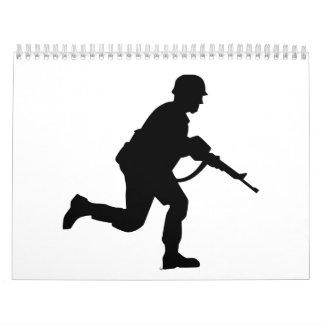 Soldado corriente calendarios