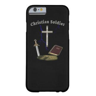 Soldado cristiano funda para iPhone 6 barely there