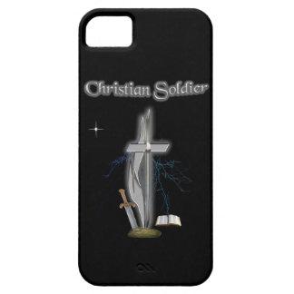 soldado cristiano iPhone 5 carcasa