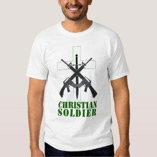 Soldado cristiano remeras