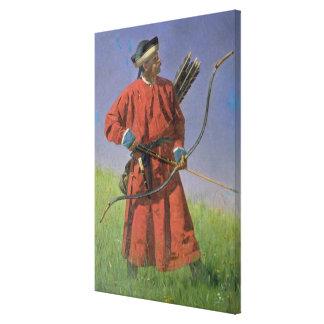 Soldado de Bokharan, 1873 Impresiones De Lienzo