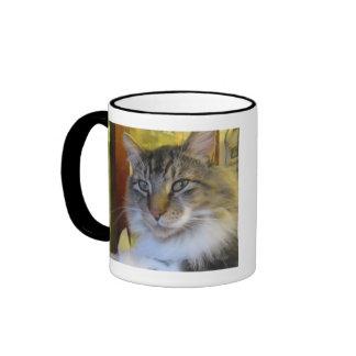 """""""Soldado de caballería taza del gato"""""""