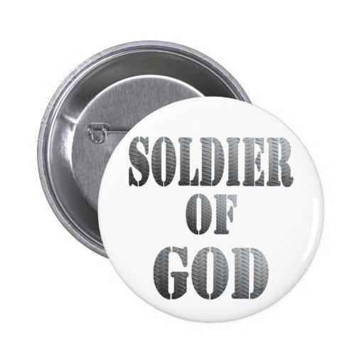 Soldado de dios 5 Métal Pin