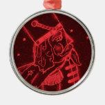 Soldado de juguete en rojo adornos de navidad