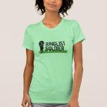 Soldado de Junglist Camiseta