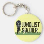 Soldado de Junglist Llavero Personalizado