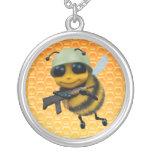 soldado de la abeja 3d joyeria
