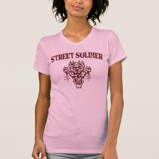 Soldado de la calle playera