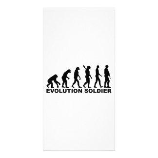 Soldado de la evolución