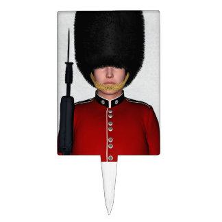 Soldado de la guardia británico real, Londres, Gra Figuras De Tarta