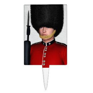 Soldado de la guardia británico real, Londres, Rei Decoraciones De Tartas