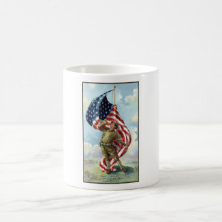 Soldado de la Primera Guerra Mundial Taza De Café