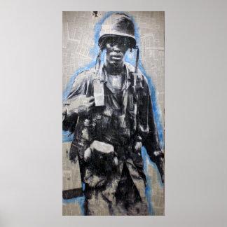 Soldado de Vietnam Póster