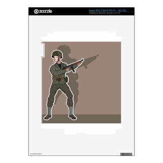 Soldado de WWII iPad 3 Skin