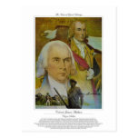 Soldado del ciudadano de coronel James Madison Tarjetas Postales