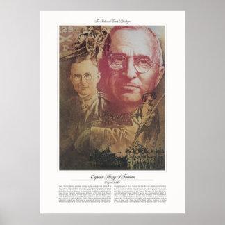 Soldado del ciudadano de Harry S. Truman Póster