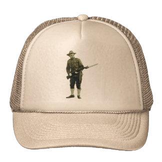 Soldado del Doughboy de la Primera Guerra Mundial Gorro De Camionero