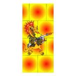 Soldado del dragón lonas publicitarias
