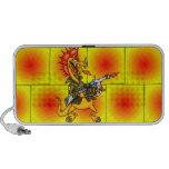Soldado del dragón notebook altavoces