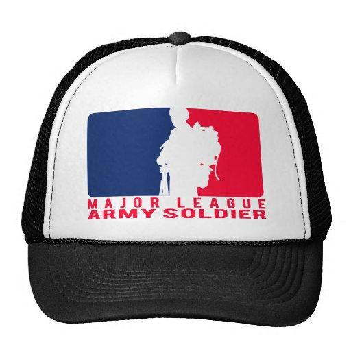 Soldado del ejército de la primera división gorra