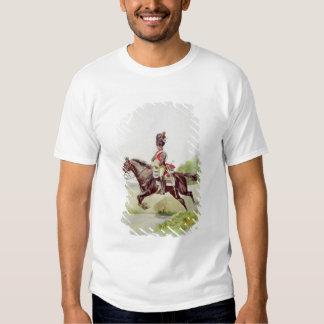 Soldado del guardia imperial a caballo, 1898 polera