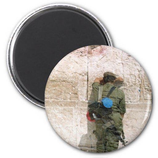 soldado del kotel imán redondo 5 cm