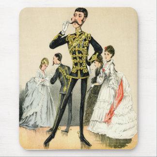 Soldado del Victorian de los 10mos húsares reales Alfombrilla De Ratón