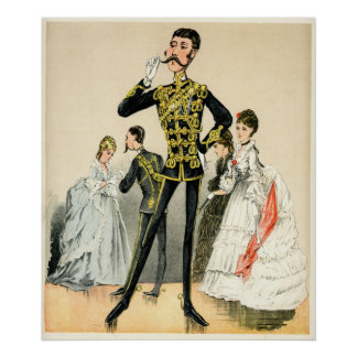 Soldado del Victorian de los 10mos húsares reales Impresiones