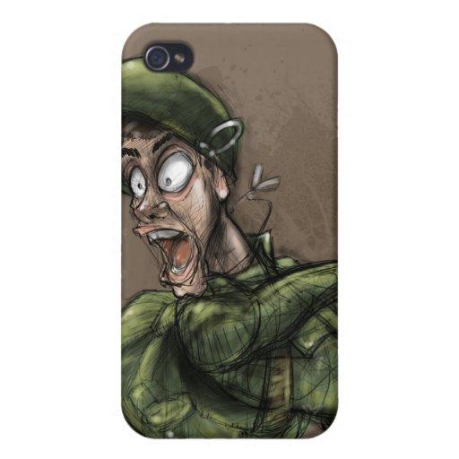 Soldado iPhone 4 Protector