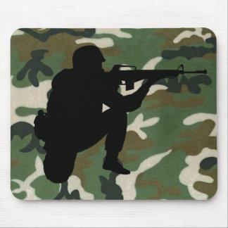 Soldado MousePad Alfombrillas De Ratones