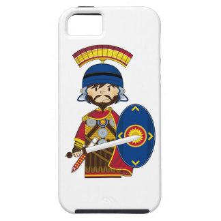 Soldado romano del centurión del dibujo animado iPhone 5 cobertura