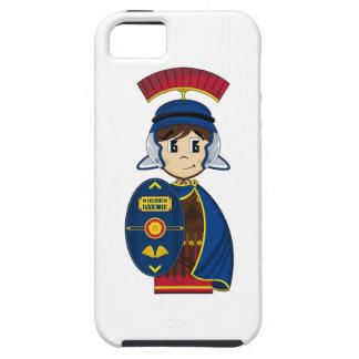 Soldado romano del centurión del dibujo animado iPhone 5 Case-Mate protector