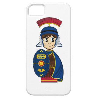 Soldado romano del centurión del dibujo animado iPhone 5 Case-Mate protectores