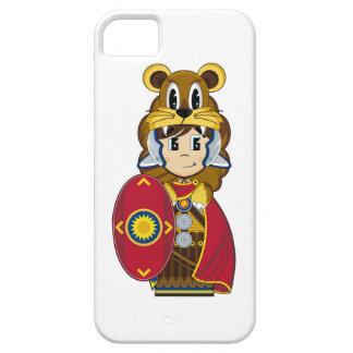 Soldado romano del león del centurión iPhone 5 Case-Mate coberturas