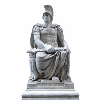 Soldado romano escultura fotográfica