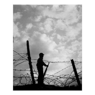 Soldado solo póster