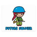 Soldado Tarjeta Postal