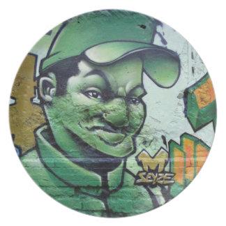 Soldado verde - plato