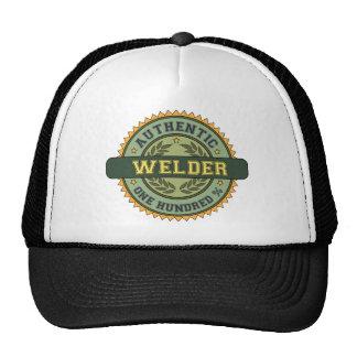 Soldador auténtico gorras de camionero