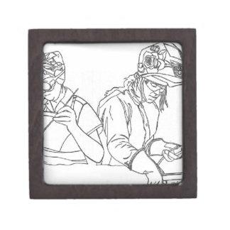 Soldadores - ayer y hoy cajas de recuerdo de calidad
