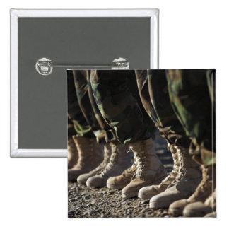 Soldados Afghan National Army Air Corp Pin Cuadrado