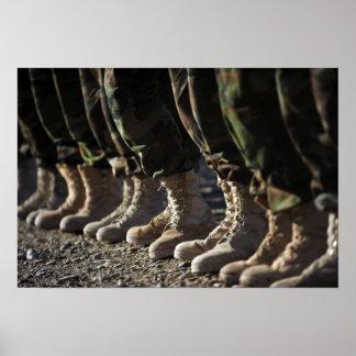 Soldados Afghan National Army Air Corp Póster