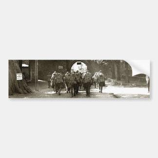 Soldados americanos de WWI en Ahrweiler Alemania Pegatina Para Auto