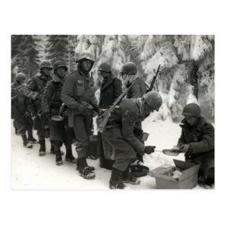 Soldados americanos de WWII en Bélgica Postal