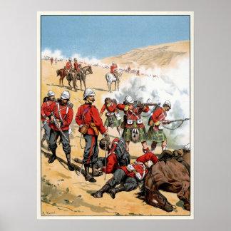 Soldados británicos del siglo XIX Póster