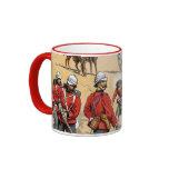 Soldados británicos del siglo XIX Taza De Café