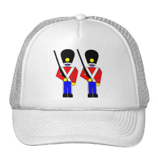 Soldados de la guardia reales gorras