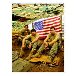 Soldados de OEF Postales